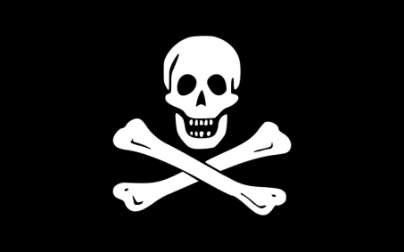 PirateFlagBlackSam