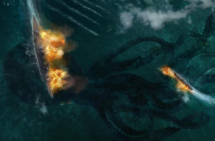 The Kraken appears!