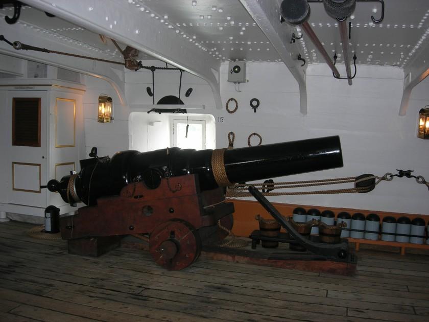 HMSWarriorGun