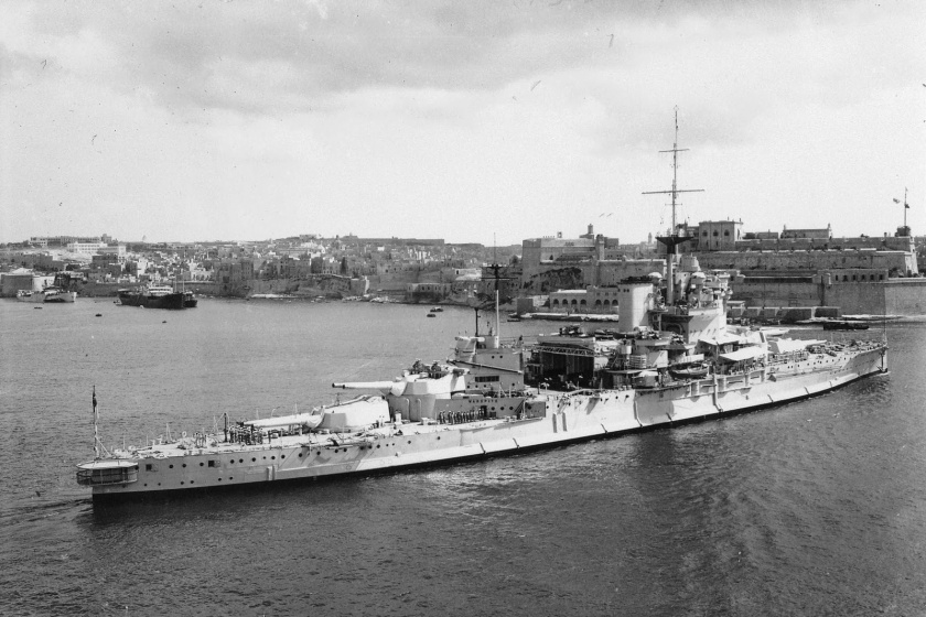 WarspiteSternView